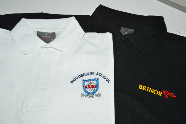 carousel promotional clothing embroidery